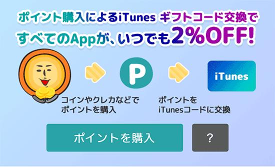 iOS版GMコイン購入還元
