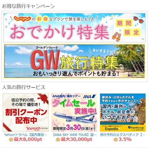 旅行代理店サイト
