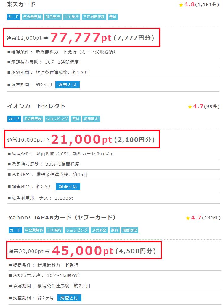 クレジットカード発行
