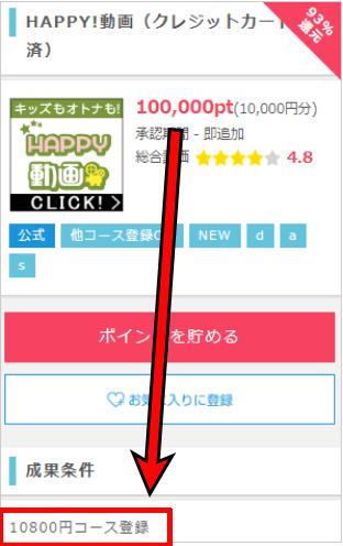 800円負担広告