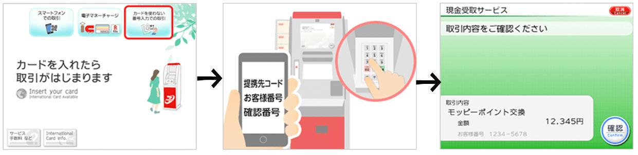 セブン銀行ATM出金
