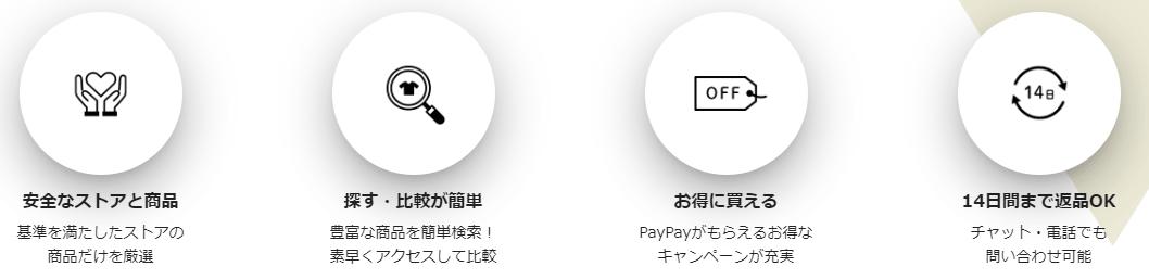 PayPayモール便利なポイント