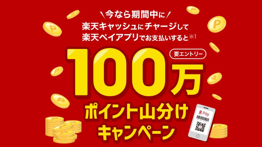 100万円ポイント山分け