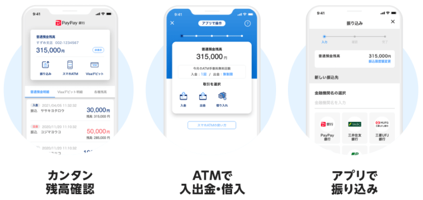PayPay銀行アプリ