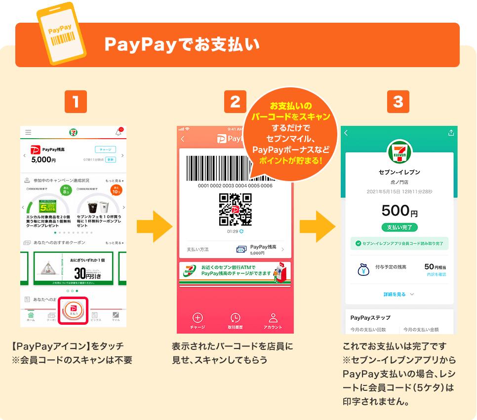 PayPayでお支払い
