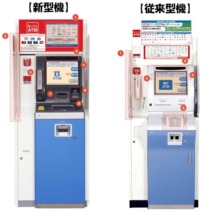 ATM新型従来型