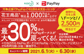 PayPay×花王